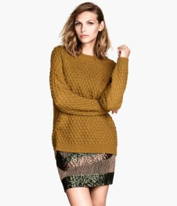 Pull Ocre HM