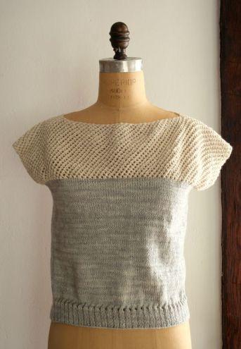 T-shirt tricot